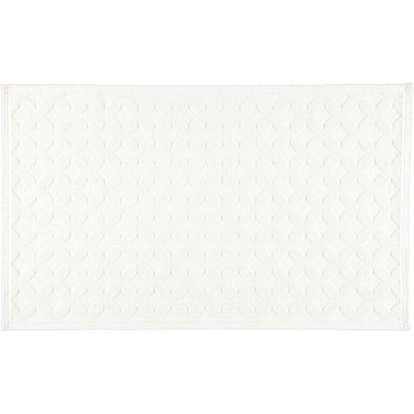 Rhomtuft - Badematte Seaside - Farbe: weiß - 01 70x120 cm