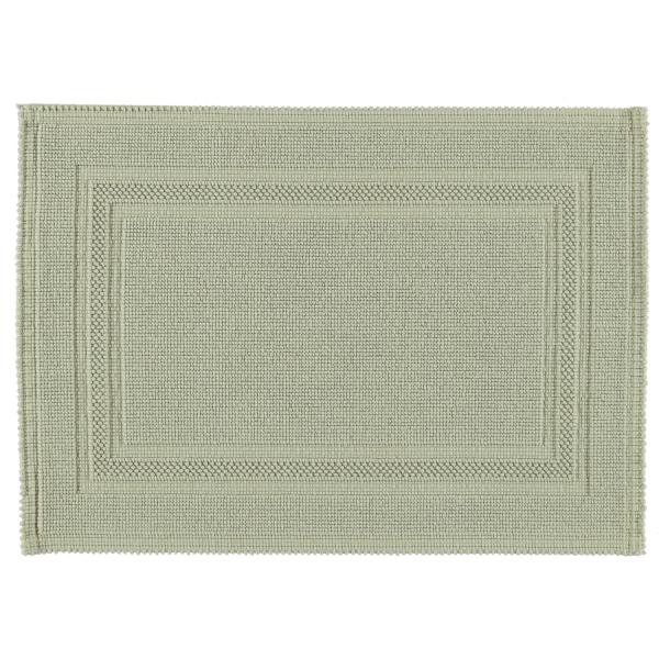 Rhomtuft - Badematte Gala - Farbe: jade - 90 50x70 cm