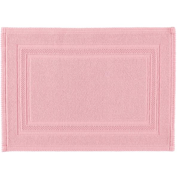 Rhomtuft - Badematte Gala - Farbe: rosenquarz - 402 50x70 cm