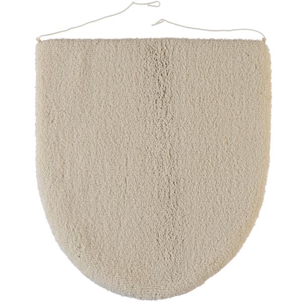 Rhomtuft - Badteppiche Aspect - Farbe: beige - 42 Deckelbezug 45x50 cm
