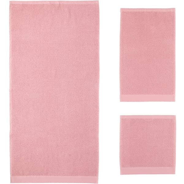 Rhomtuft - Handtücher Baronesse - Farbe: rosenquarz - 402