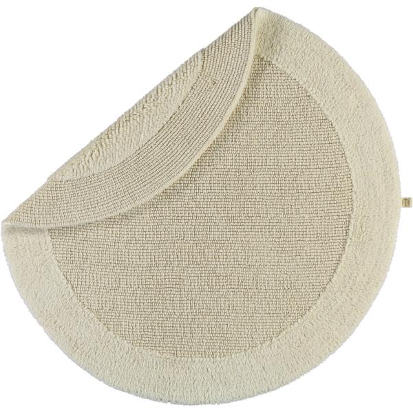 Rhomtuft - Badteppiche Exquisit - Farbe: natur-jasmin - 20 80 cm rund