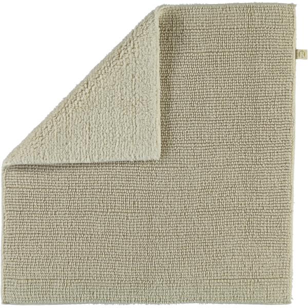Rhomtuft - Badteppich Pur - Farbe: natur-jasmin - 20 60x60 cm