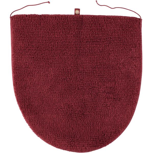 Rhomtuft - Badteppiche Prestige - Farbe: marsala - 391 Deckelbezug 45x50 cm