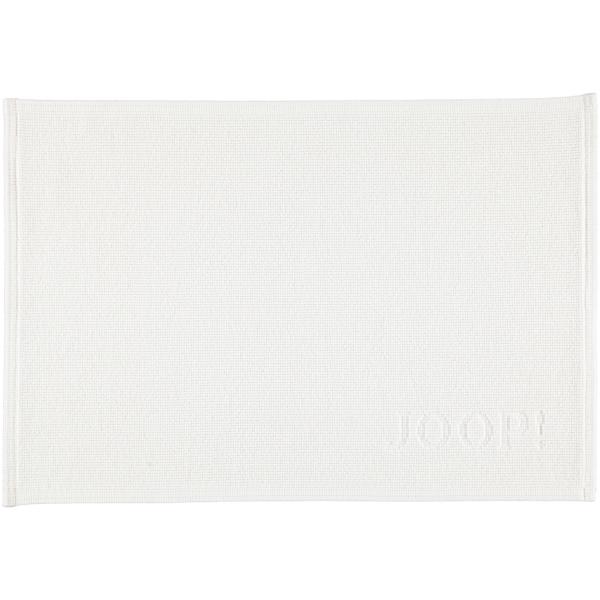 JOOP! Badematte Signature 49 - Farbe: Weiß - 001 60x90 cm