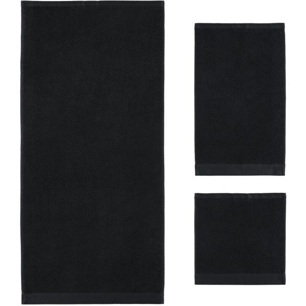 Rhomtuft - Handtücher Baronesse - Farbe: schwarz - 15