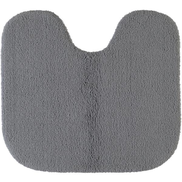 Rhomtuft - Badteppiche Aspect - Farbe: kiesel - 85 Toilettenvorlage mit Ausschnitt 55x60 cm