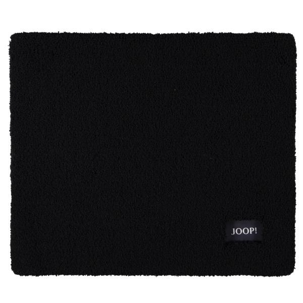 JOOP! Badteppich Basic 11 - Farbe: Schwarz - 015 50x60 cm