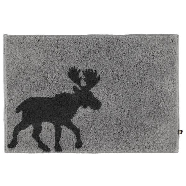 Rhomtuft - Badteppiche Elk 219 - Farbe: perlgrau/zink - 1361 50x65 cm