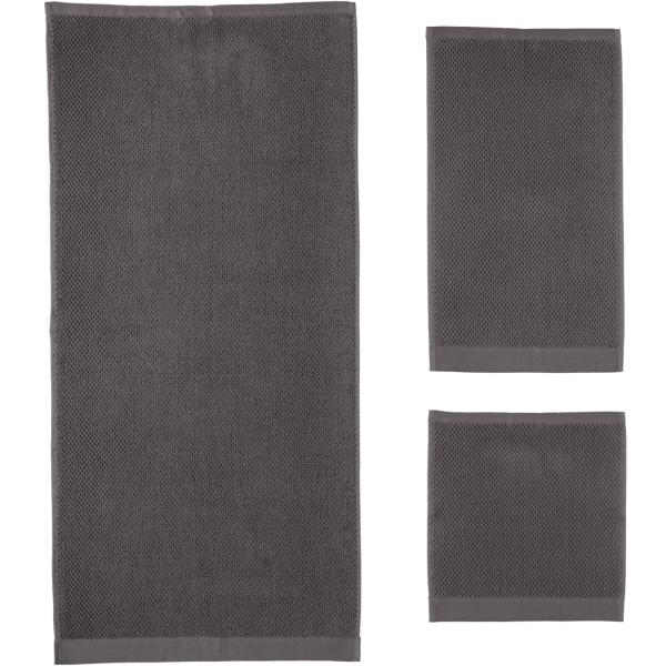 Rhomtuft - Handtücher Baronesse - Farbe: zinn - 02