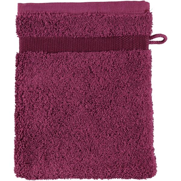 Rhomtuft - Handtücher Princess - Farbe: berry - 237 Waschhandschuh 16x22 cm