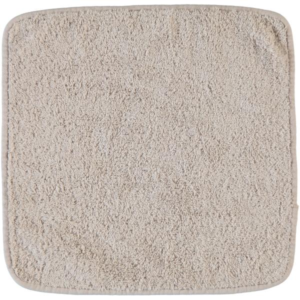 Rhomtuft - Handtücher Loft - Farbe: stone - 320 Seiflappen 30x30 cm