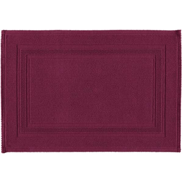 Rhomtuft - Badematte Gala - Farbe: berry - 237