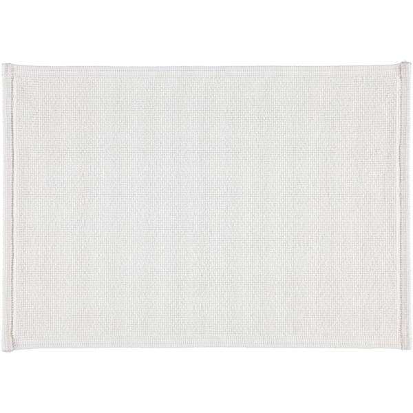 Rhomtuft - Badteppiche Plain - Farbe: weiss - 01 50x70 cm