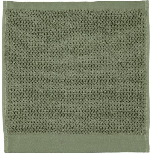 Rhomtuft - Handtücher Baronesse - Farbe: olive - 404 Seiflappen 30x30 cm
