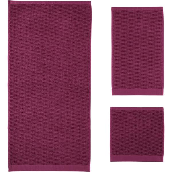 Rhomtuft - Handtücher Baronesse - Farbe: berry - 237