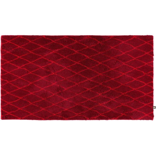 Rhomtuft - Badteppiche Rhom 87 - Farbe: cardinal/carmin - 1346 70x130 cm