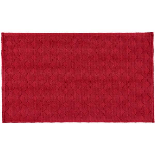 Rhomtuft - Badematte Seaside - Farbe: cardinal - 349 70x120 cm