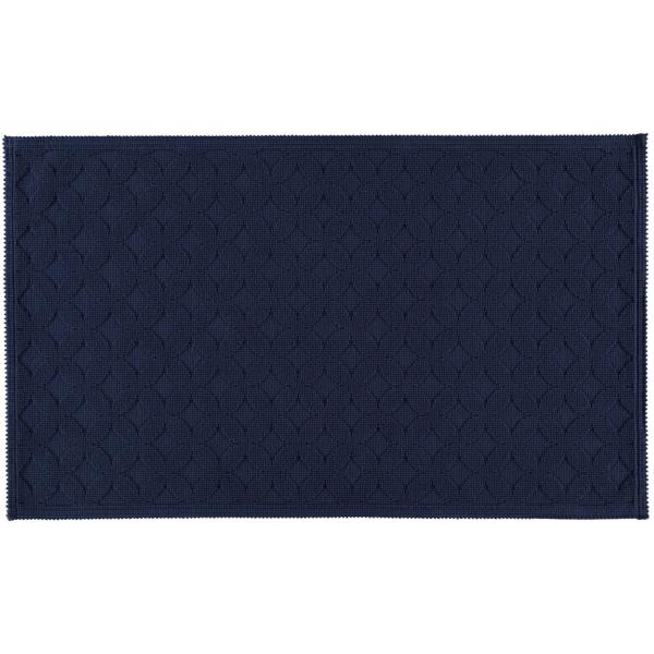 Rhomtuft - Badematte Seaside - Farbe: kobalt - 84 70x120 cm
