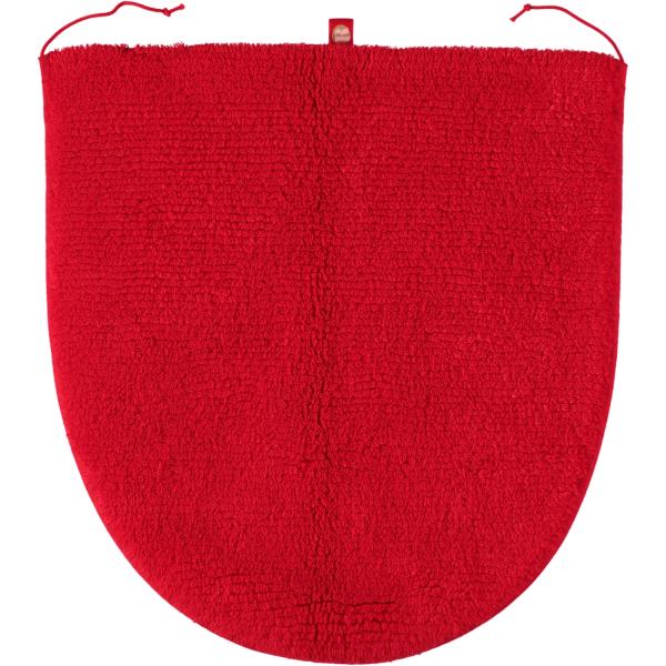 Rhomtuft - Badteppiche Prestige - Farbe: carmin - 18 Deckelbezug 45x50 cm