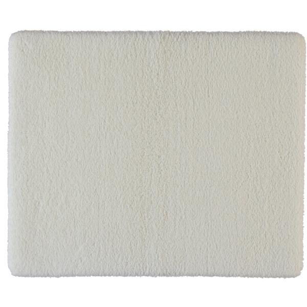 Rhomtuft - Badteppiche Square - Farbe: weiss - 01 50x60 cm