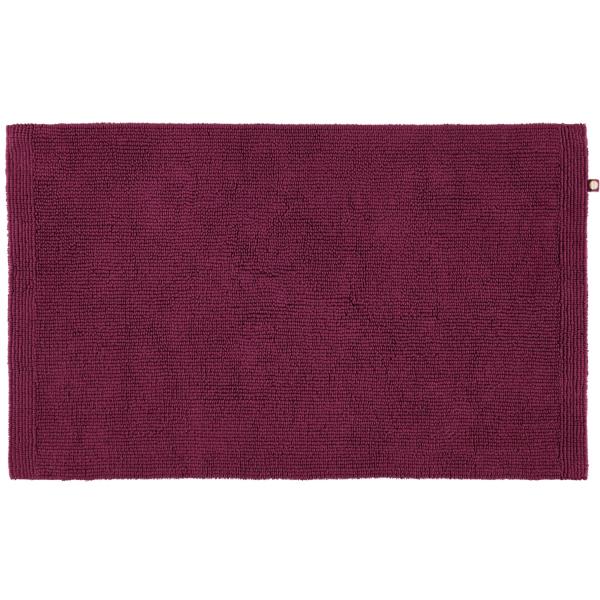 Rhomtuft - Badteppich Pur - Farbe: berry - 237 60x100 cm