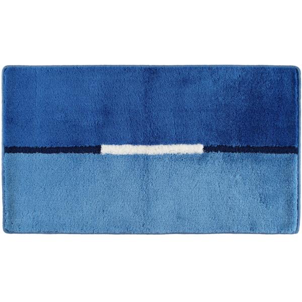 Rhomtuft RHOMY - Badteppich Mira 257 - Farbe: ocean - 323 65x115 cm