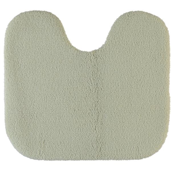 Rhomtuft - Badteppiche Aspect - Farbe: stone - 320 Toilettenvorlage mit Ausschnitt 55x60 cm