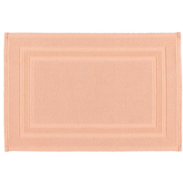 Rhomtuft - Badematte Gala - Farbe: peach - 405 60x90 cm