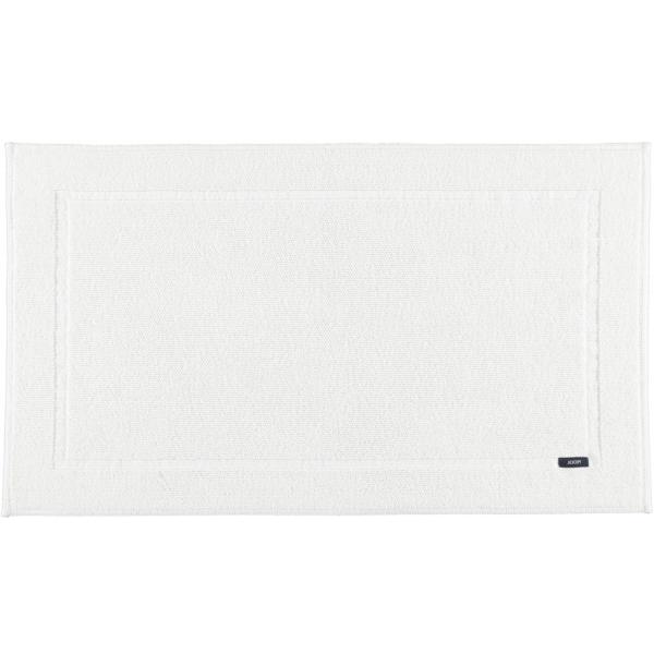 JOOP! Badematte Pearl 72 - Farbe: Weiß - 001 70x120 cm