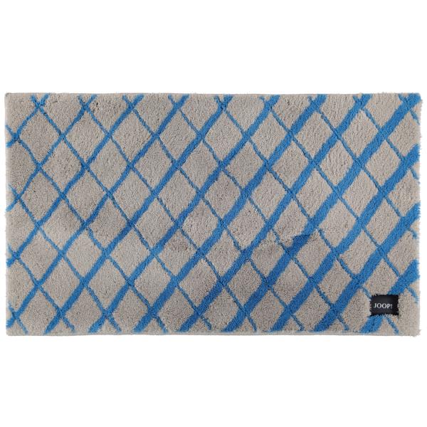 JOOP! Badteppich Diamond 143 - Farbe: Ocean - 323 70x120 cm