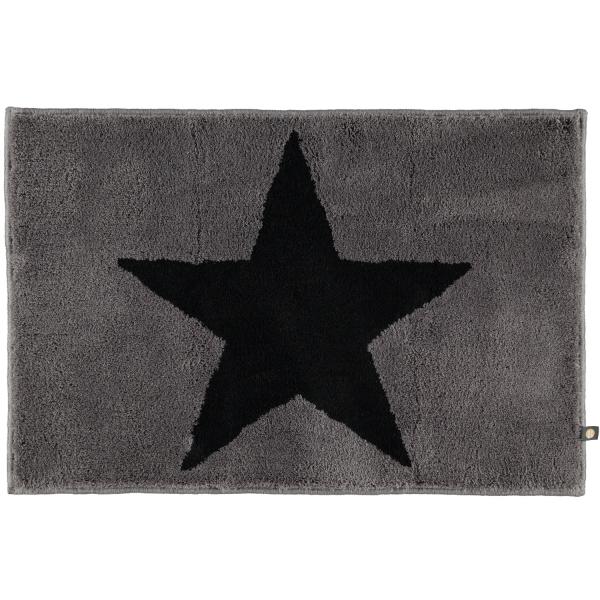 Rhomtuft - Badteppich STAR 216 - Farbe: graphit/anthrazit - 1353