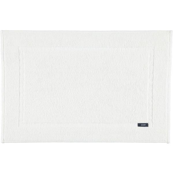 JOOP! Badematte Pearl 72 - Farbe: Weiß - 001 60x90 cm