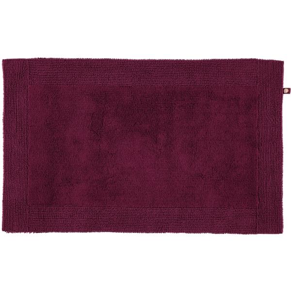 Rhomtuft - Badteppiche Prestige - Farbe: berry - 237 60x100 cm
