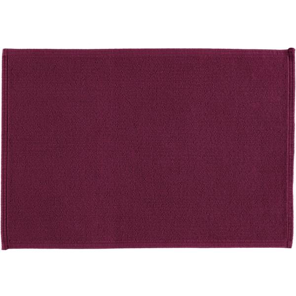 Rhomtuft - Badematte Plain - Farbe: berry - 237 60x90 cm
