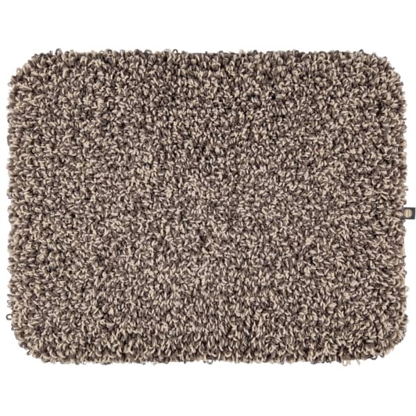 Rhomtuft - Badteppiche Lava - Farbe: moor/leinen - 1289 50x65 cm