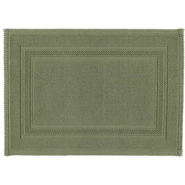Rhomtuft - Badematte Gala - Farbe: olive - 404 50x70 cm