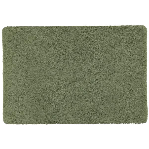 Rhomtuft - Badteppiche Square - Farbe: olive - 404 60x90 cm