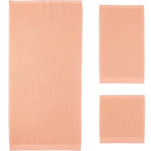 Rhomtuft - Handtücher Baronesse - Farbe: peach - 405