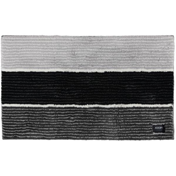 JOOP! Badteppich Lines 286 - Farbe: Anthrazit - 069 70x120 cm