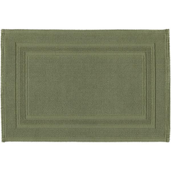 Rhomtuft - Badematte Gala - Farbe: olive - 404 60x90 cm