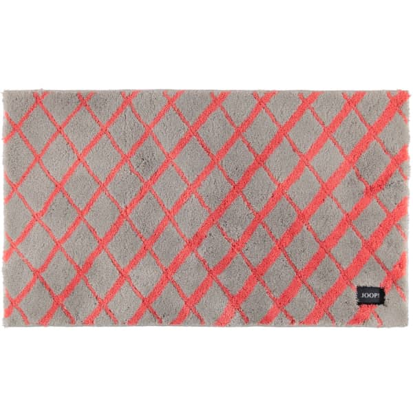 JOOP! Badteppich Diamond 143 - Farbe: Coral - 324 70x120 cm