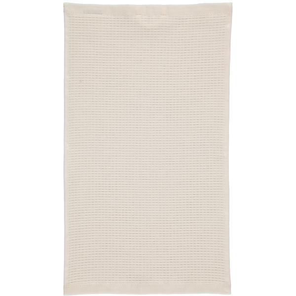 Rhomtuft - Handtücher Face & Body - Farbe: natur-jasmin - 20 Gästetuch 30x50 cm