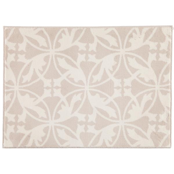 Rhomtuft - Badematte Mauro - Farbe: natur/weiß - 830 50x70 cm