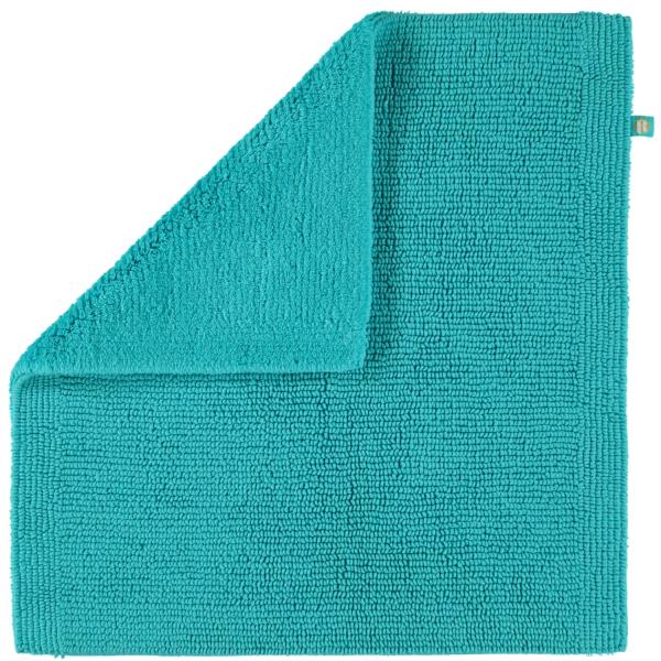 Rhomtuft - Badteppich Pur - Farbe: azur - 41 60x60 cm