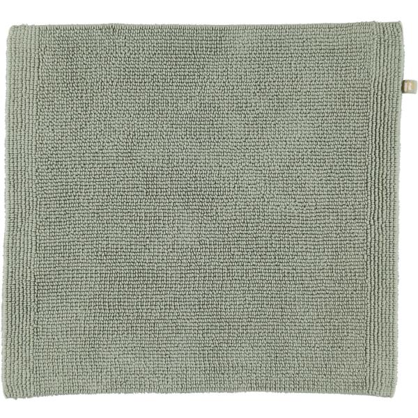 Rhomtuft - Badteppich Pur - Farbe: jade - 90 60x60 cm