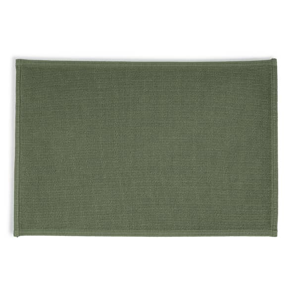 Rhomtuft - Badematte Plain - Farbe: olive - 404 70x120 cm