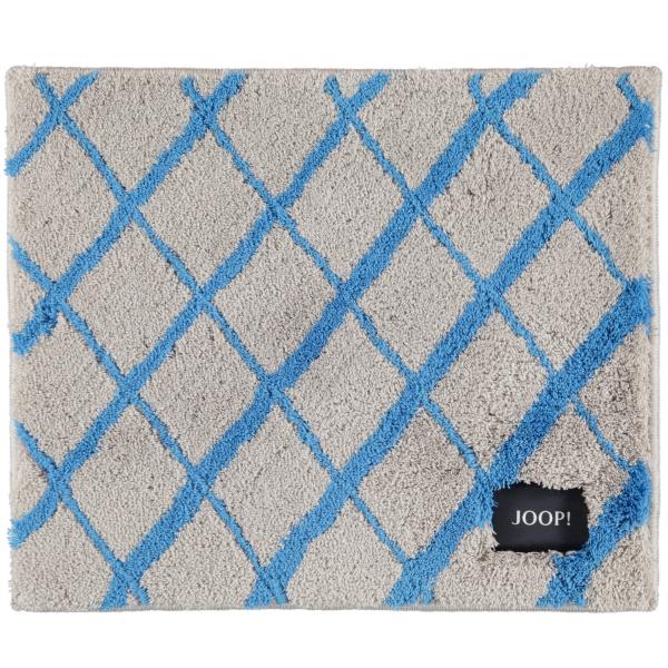 JOOP! Badteppich Diamond 143 - Farbe: Ocean - 323 50x60 cm