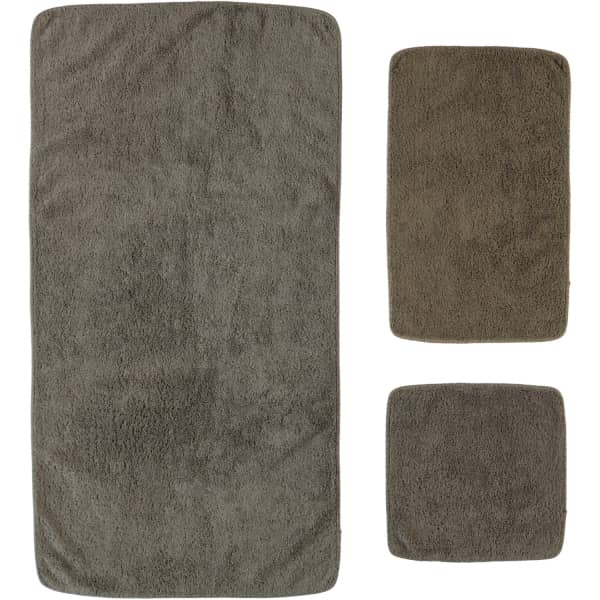Rhomtuft - Handtücher Loft - Farbe: taupe - 58