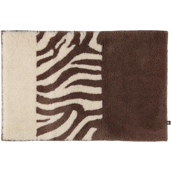 Rhomtuft - Badteppiche Zebra - Farbe: taupe/natur-jasmin - 1400 70x130 cm